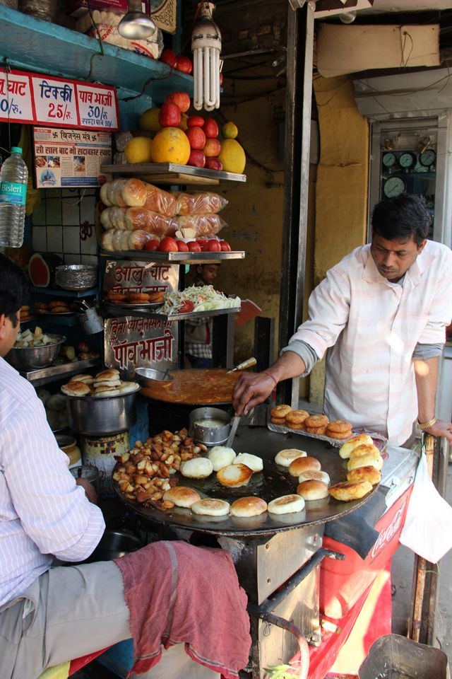 Kulle Chaat - A Delhi Street Food You Need to Try #culinarytravel