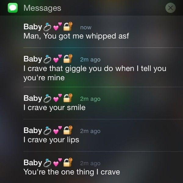 relationship goals af messages