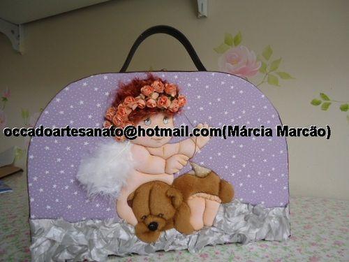 Maleta de costura - Marcia Marcão Pano Pintado - Terra Fotolog