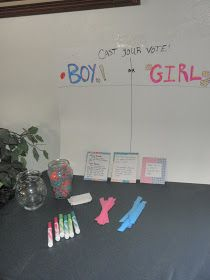 Through Clouded Glass: Gender Reveal Party Games