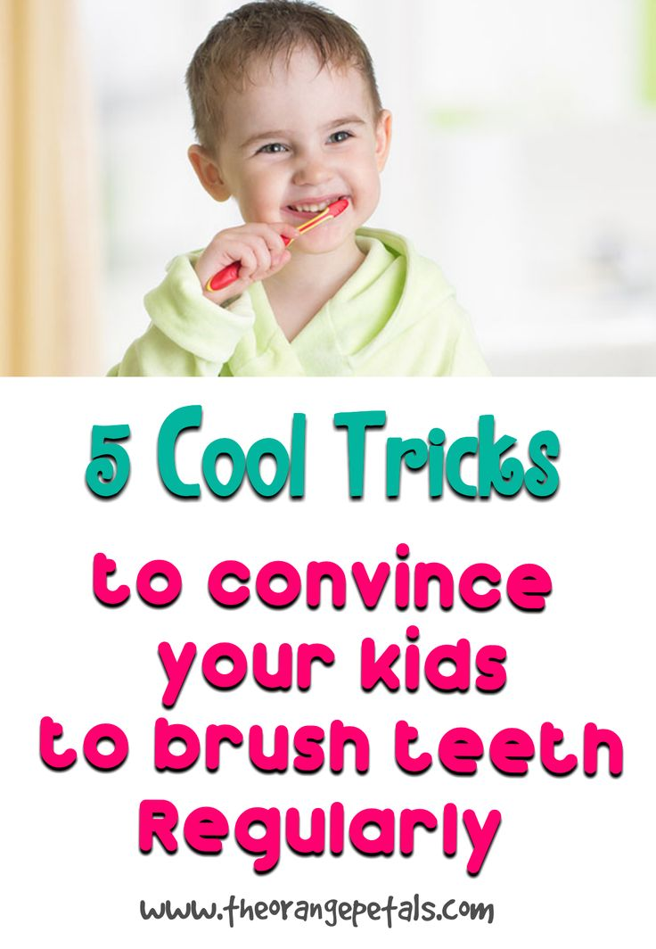 5 Cool Tricks to Convince Your Kids to Brush their Teeth Regularly - theorangepetals
