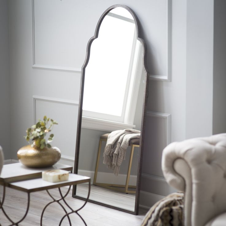 Uttermost Brayden Tall Arch Mirror - 30W x 60H in. | from hayneedle.com