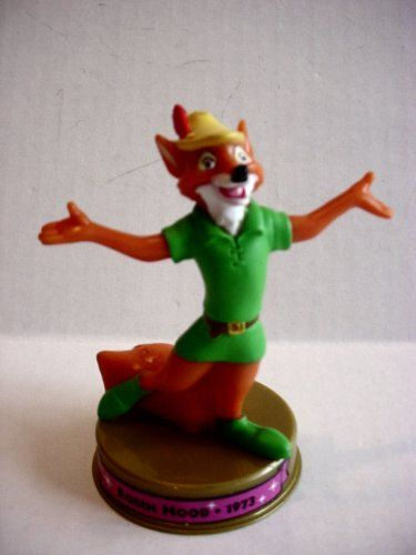2002 Mcdonalds 100 Years of Disney Robin Hood Figure Happy ...