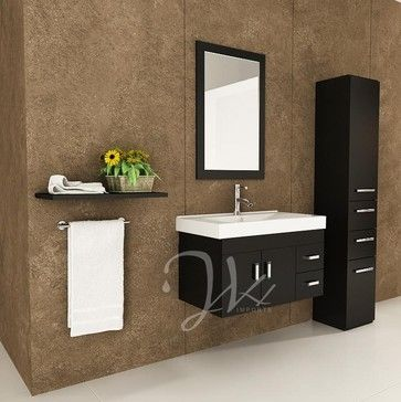 Bathroom Vanities Modern 116 best floating bath vanities images on pinterest | bathroom