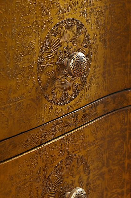 Hand-Embossed Five-Drawer Dresser - anthropologie.com