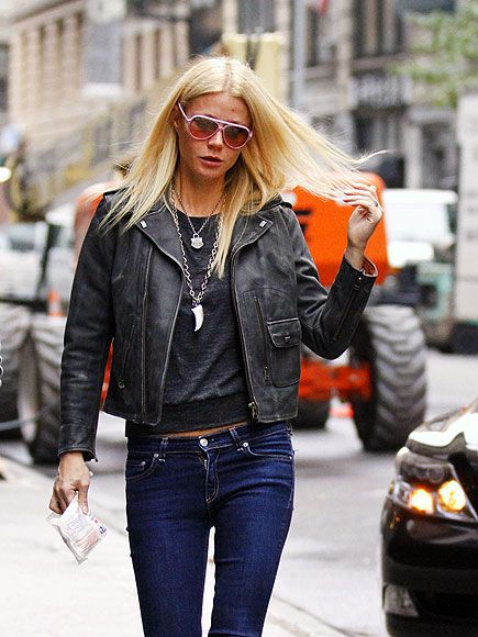 CITY SLICKER  No doubt Gwyneth Paltrow keeps it casual