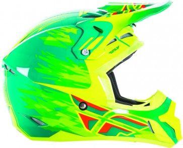 Fly Racing Kinetic Pro Shorty Replica Youth Off Road Dirt Bike Motocross Helmets