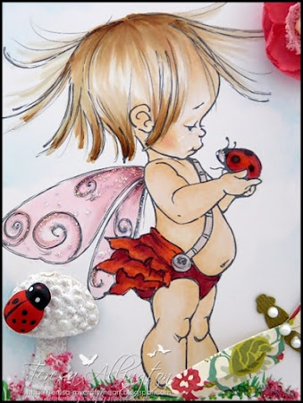 "OMG he is so cute!!! Gonna have to have this one My Crafty Heart: Mo Manning ""Bug"" Fairy...."