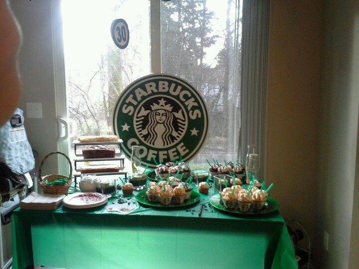 Party Starbucks Birthday Cake Ideas And Designs