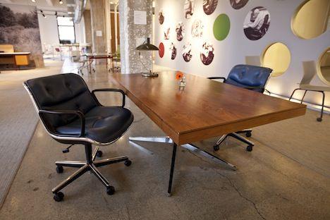 """Florence Knoll """"Partner's desk"""""""