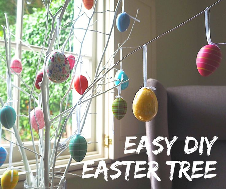 17 Best Ideas About Easter Tree On Pinterest