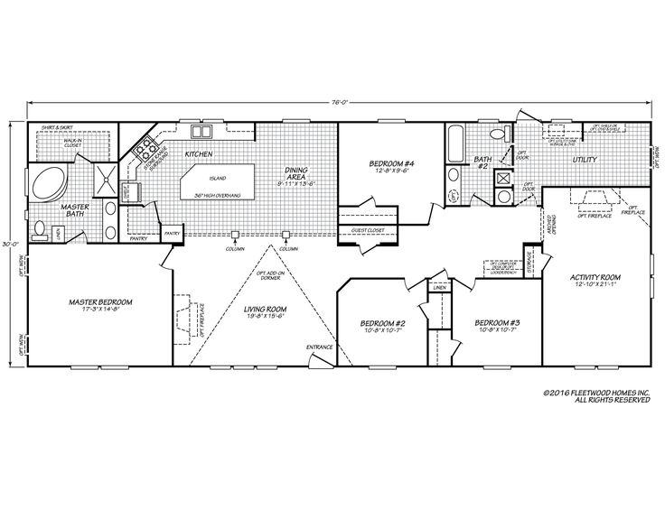 17 best images about floor plans regular on pinterest for 4 bedroom house plans with bonus room
