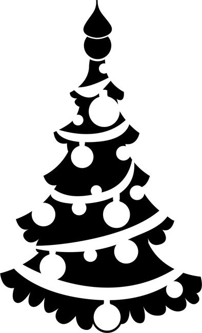 Quickly and easily create a festive holiday design anywhere with our Christmas Tree 2 Painting Stencil!