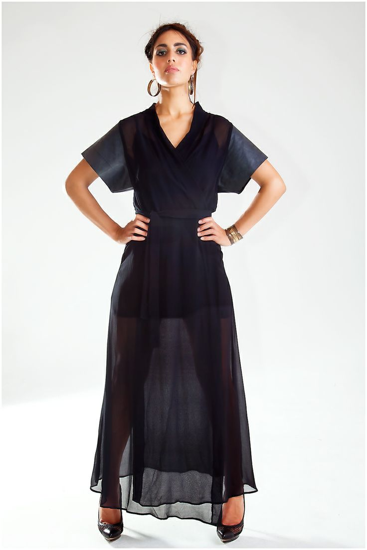 New Collection… Majesty Silk Wrap with leather sleeves