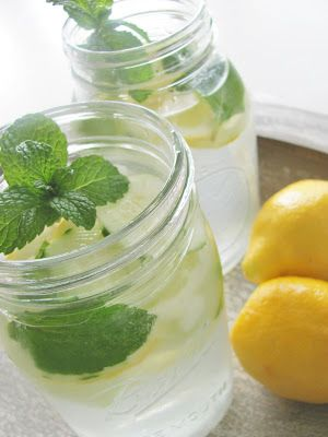 Cucumber-Ginger-Lemon-Mint Water - City Farmhouse