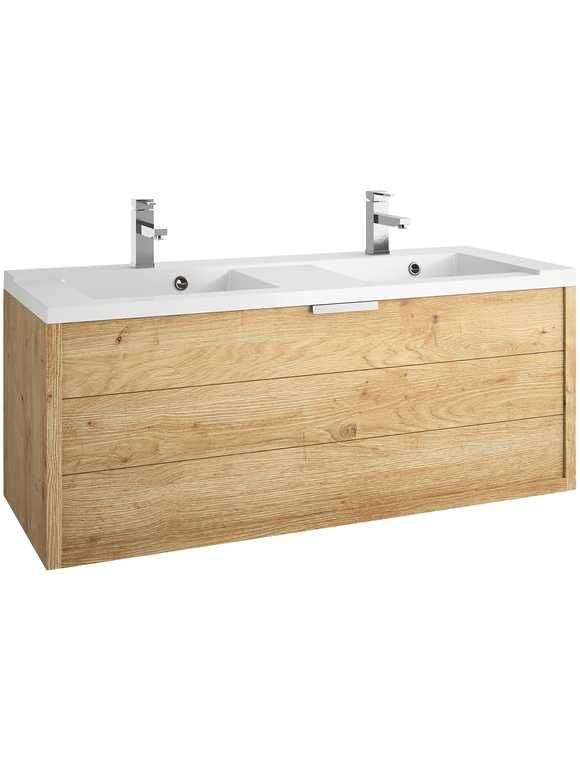 Allibert Waschtisch Palermo Doppelwaschbecken Doppelwaschtisch Breite 120 Cm 2 Tlg Waschtisch 120 Cm Doppelwaschbecken Badezimmerideen