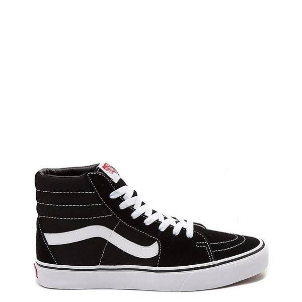 260741 - Vans Sk8 Hi Skate Shoe - black   Skate shoes, Vans ...