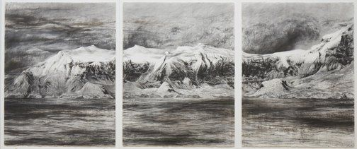 Wendy Loefler: Antarctica #28 :: Dobell Prize for Drawing 2012 :: Art Gallery NSW