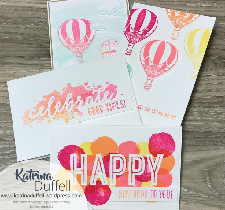 Stampin' Up! Lift Me Up, Stampin' Up! Happy Celebrations, Stampin' Up! Work of Art, Stampin' Up! Colour Combination, Katrina Duffell, Sydney Australia, School Holiday Activties