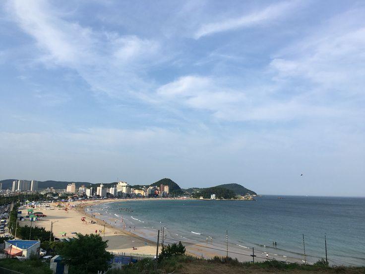 여름은 바다. 부산 송정.