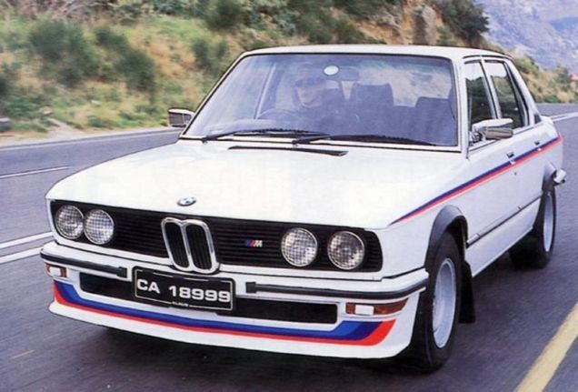 The first BMW road car to wear M-badge wasn't the M1