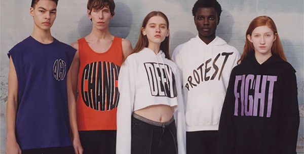 The brand collaborated with the NYC Ballet for their latest, politically-driven capsule
