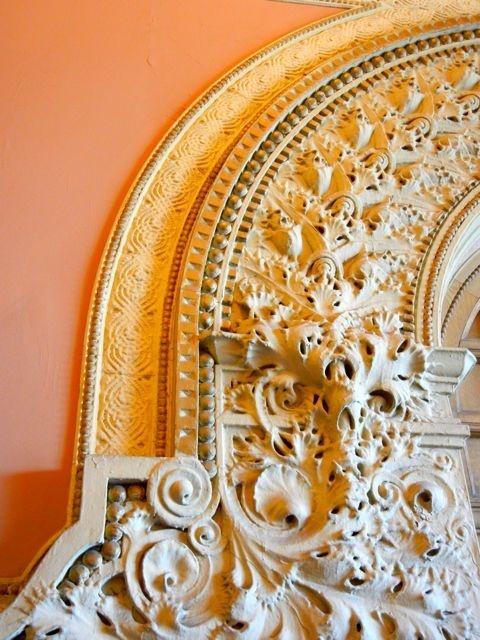 detailing of auditorium building interior adler sullivan 1889 chicago il chicago. Black Bedroom Furniture Sets. Home Design Ideas
