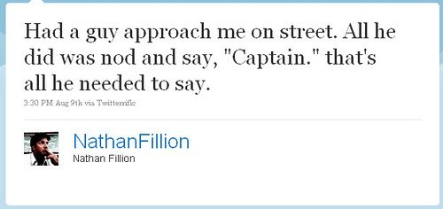 If I ever meet Nathan Fillion I'm doing this!