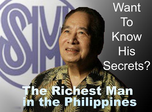 The unbeatable richest man in the Philippines, Henry Sy ranked again as the Philippines' wealthiest billionaire according to Forbes annual ranking of world's billionaires for year 2012.     Read more: http://www.affordablecebu.com/load/finance_wealth/richest_man_in_philippines_2012_know_his_secrets/34-1-0-2798#ixzz1zcKOCK2K