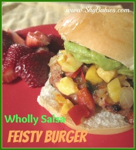 Feisty Burger: Wholli Salsa, Healthy Turkey Burgers, Feisti Burgers, Amazing Food, Salsa Feisti, Random Recipes, Dinners Ideas, Burgers Recipes, Favorite Recipes