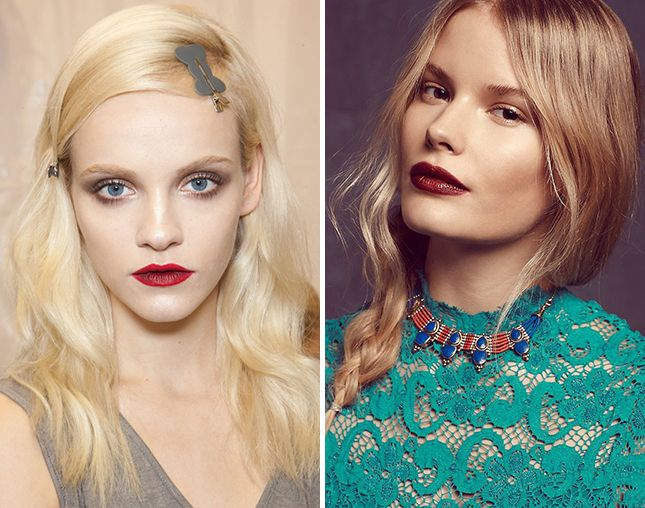 Dye your hair strawberry blonde this winter.