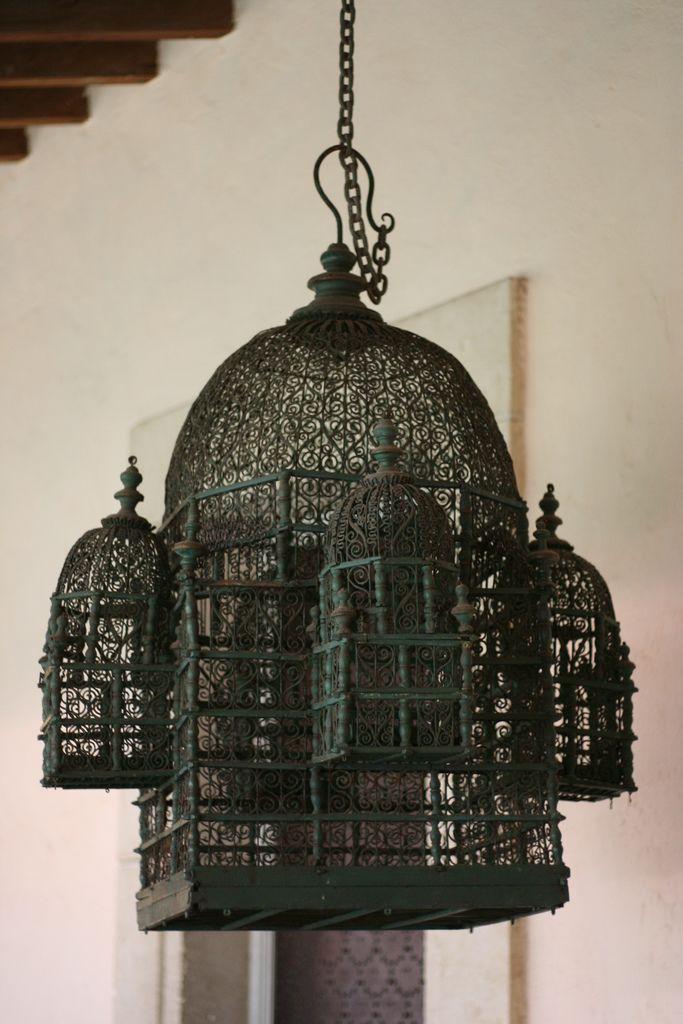 Weird bird cage at Vizcaya