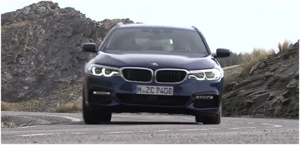 BMW 5-Series Touring 2017-2018.