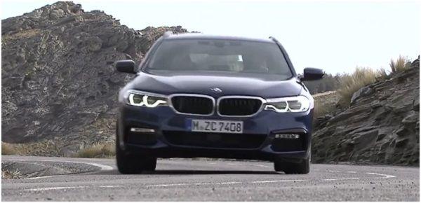 BMW 5-Series Touring 2017-2018.