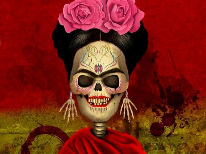 Frida Kahlo Calavera Dia De Muertos Favorites