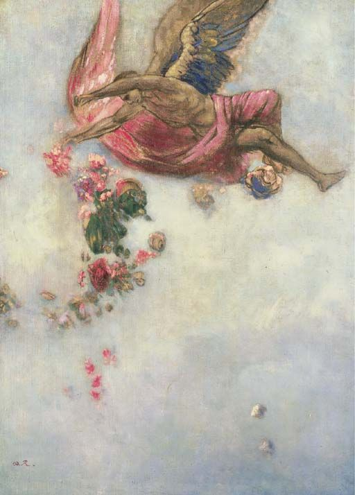 Odilon Redon ~ The Fall of Icarus