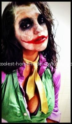 35 best halloween images on pinterest costume ideas costumes coolest female joker homemade costume halloween costume makeupdiy solutioingenieria Choice Image