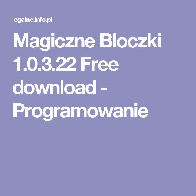 Magiczne Bloczki 1.0.3.22 Free download - Programowanie