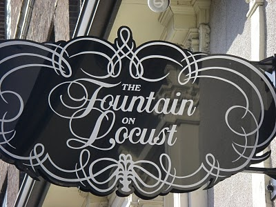 The Fountain on Locust - 3037 Locust, St. Louis, MO 63103, 314-535-7800 --- Great ice cream parlor with an Art Deco-inspired interior, adult ice cream beverages and amazing food!  *See Link for more Details!