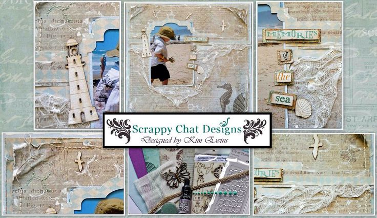 Scrappy Chat Designs - August Kit Release - Seabreeze. http://scrappychatdesigns.com.au