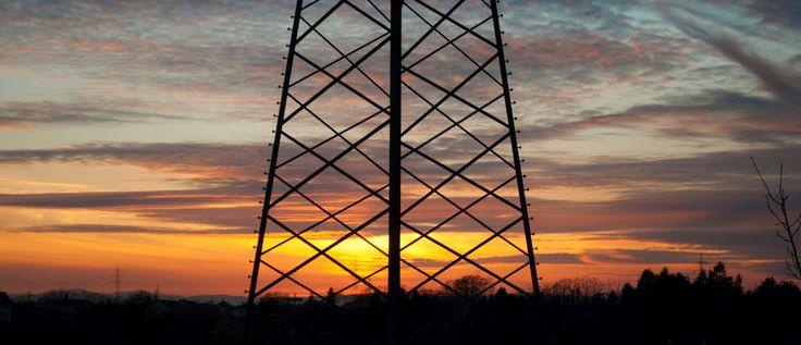 Sunset in Schwetzingen Germany