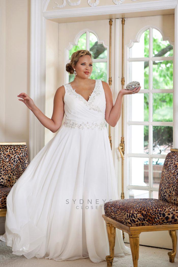 203 best Plus Size Brides images on Pinterest | Wedding dresses plus ...