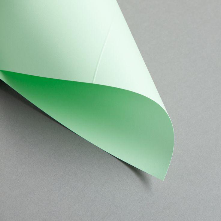 Karten Farbig DIN lang hochdoppelt Grün   25 Stück