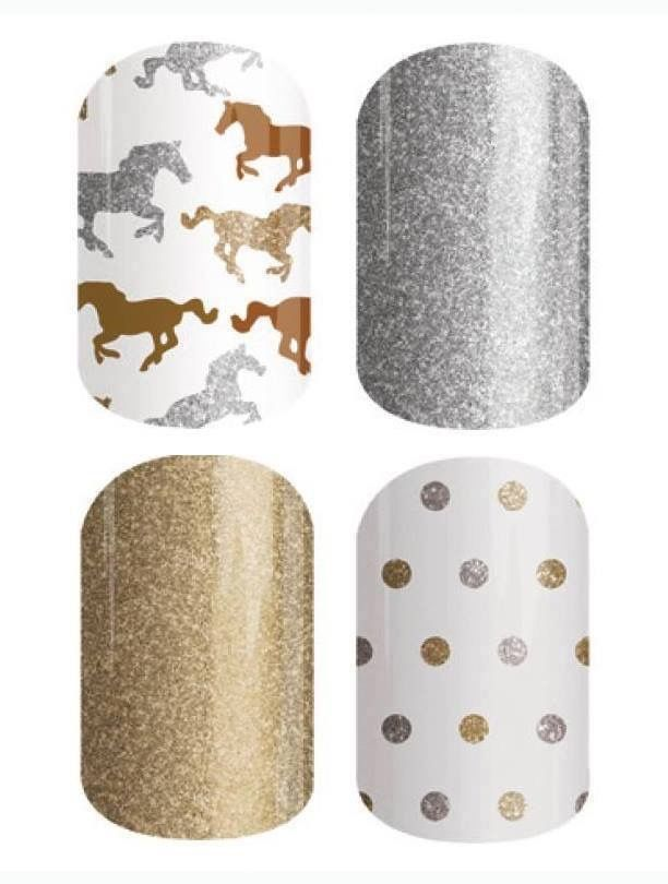For the horse lover❤️❤️Jamberry Nail Wraps non toxic over 300 designs  and not tested on animals!