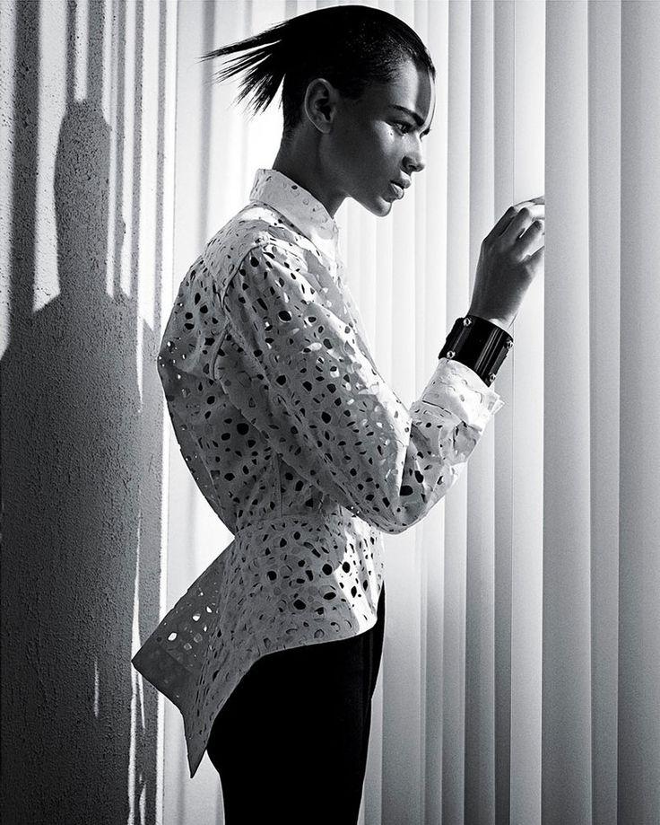 Leona Binx Walton by Mario Sorrenti for T Style Spring 2014