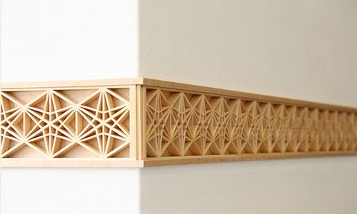 kumiko lattice woodwork technique - Google Search
