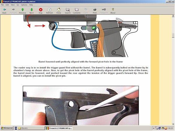 French LE FRANCAIS pistols explained - downloadable at HLebooks.com