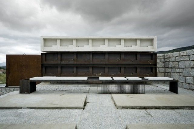 MUKA Arquitectura > Columbario en Robregordo