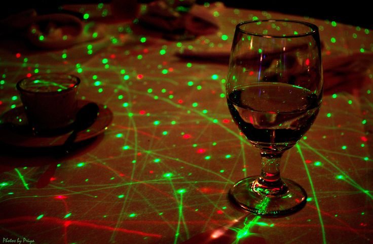 Gave me a great idea since we are having an outdoor party. Take cheap white flat sheets, splatter paint them with glow in the dark paint, then set the table as night falls the tables will light up! Inspiration!