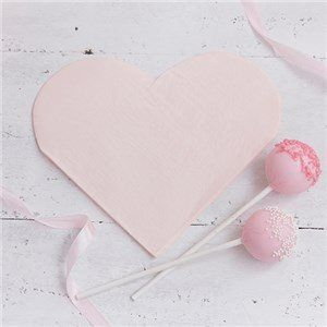 🎉  JUST ADDED - Itty Bitty Party Princess Perfection Heart Shaped Paper Napkins 👸  VIEW HERE: